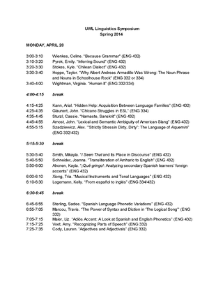 Linguistics Symposium-Spring 2014_Page_1