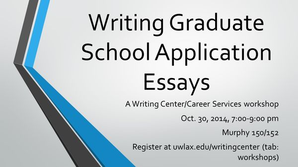 graduate school application essays tips Stanford graduate school of business admissions staff share essay tips for prospective applicants.