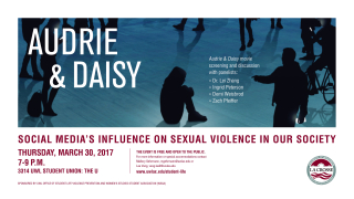 Student Life VP Audrie and Daisy March 2017 Digital Sign (002)